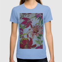 Sunny Cases XIII Womens Fitted Tee Athletic Blue SMALL