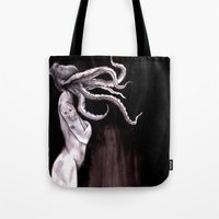 Something Touched Me and I Was Only Sleeping Tote Bag