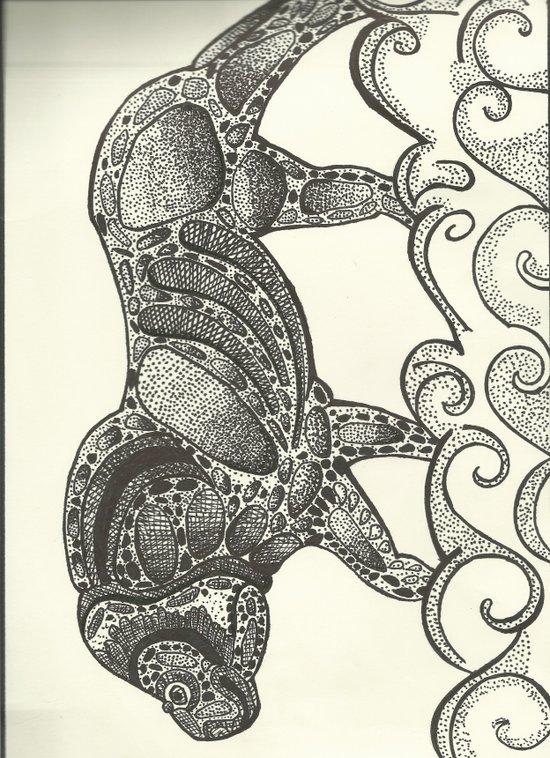 lion number 2 Art Print