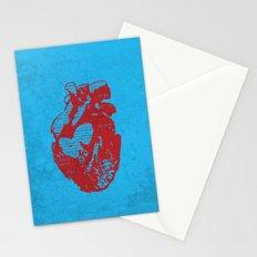 Binary heart Stationery Cards