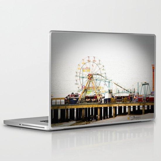 Steel Pier Laptop & iPad Skin