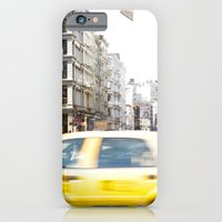 iPhone & iPod Case featuring Yellow Cab by Theresia Pauls
