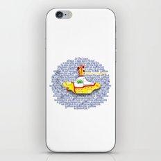 Yellow Submarine iPhone & iPod Skin