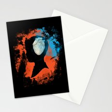 brain & heart Stationery Cards
