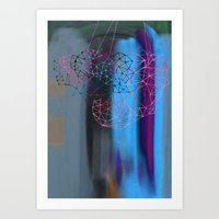 transparent evening Art Print