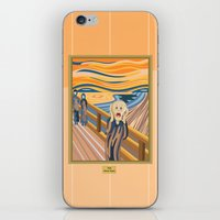 The Scream By Munch iPhone & iPod Skin