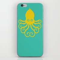 The Kraken Encounter iPhone & iPod Skin