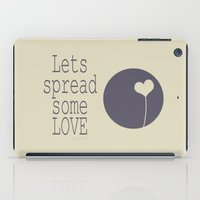 Spread Some LOVE iPad Case