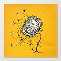 Lonely Mind  Canvas Print