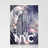 New York Moon Stationery Cards