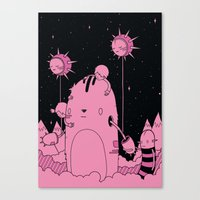 Quest 2 (Pink) Canvas Print