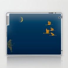 Moon-lit Flight (landscape) Laptop & iPad Skin
