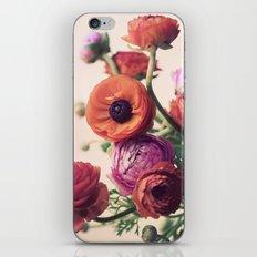 Ranunculus iPhone & iPod Skin