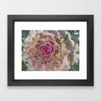 Ornamental Kale 9346 Framed Art Print