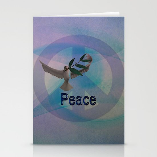 Peace Stationery Card