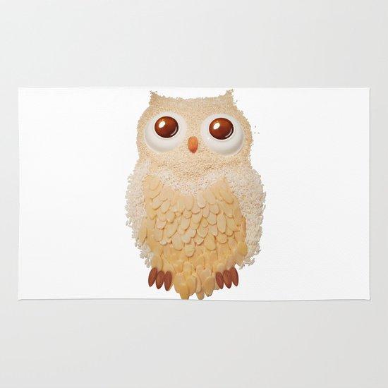 Owl Collage #5 Area & Throw Rug