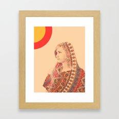 Tapestry (Double Exposure) Framed Art Print