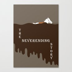 The Neverending Story  Canvas Print