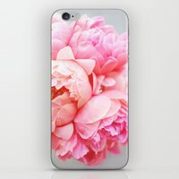 Peonies Forever iPhone & iPod Skin