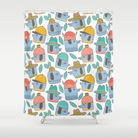 Pattern Project #38 / Do… Shower Curtain