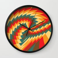 Half Circle (Available in the Society 6 Shop!) Wall Clock