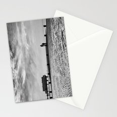 Couple on Cleethorpes Beach Stationery Cards
