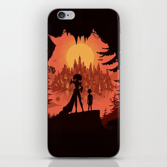 Traveling with the Queen iPhone & iPod Skin