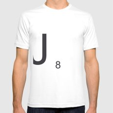 Scrabble J White Mens Fitted Tee SMALL