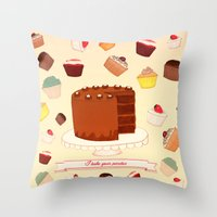 I Bake your Pardon! Throw Pillow