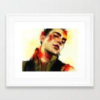 Roy Framed Art Print