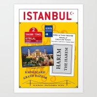 Istanbul Turkey Art Print