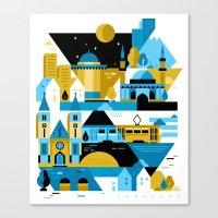 Sarajevo Canvas Print