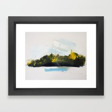 Autumn Island 1 Framed Art Print