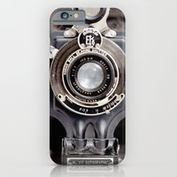 iPhone & iPod Case featuring 67-6 VINTAGE CAMERA COLLECTION  by Leslee Mitchell