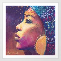 Kwamini Art Print
