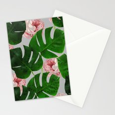 Monstera & Rose Pattern #society6 #decor #buyart Stationery Cards