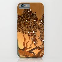 iPhone & iPod Case featuring She Hovers by Guillermo de Llera