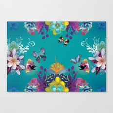 Blue Hawaii Canvas Print