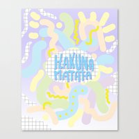 Hakuna Matata Pastel  Canvas Print