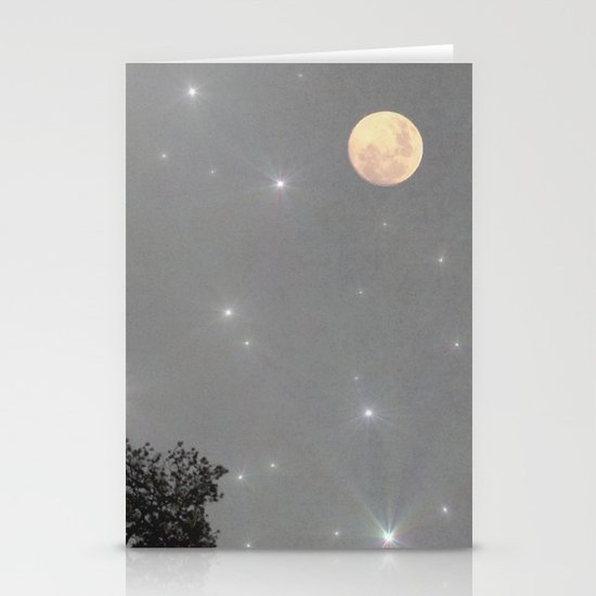 Moon Dust Stationery Card