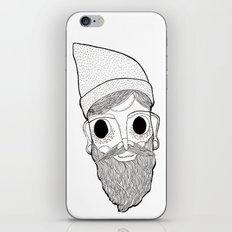 Beard Man iPhone & iPod Skin
