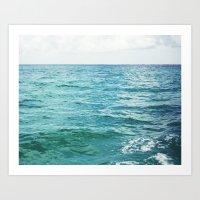 Colors of the Sea II Art Print