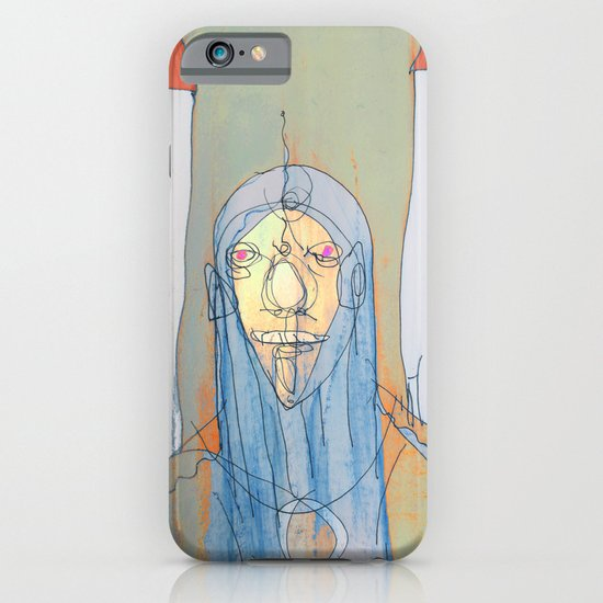 Daniel Rocket Moon iPhone & iPod Case