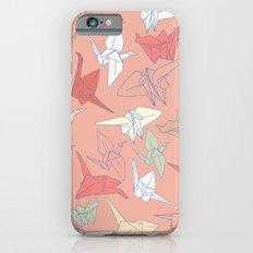 Paper Cranes- Peach iPhone 6 Slim Case
