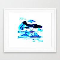 Water Women_02 Framed Art Print