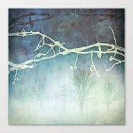 Winter Vigne Canvas Print