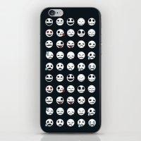 Jack's Emoticons iPhone & iPod Skin