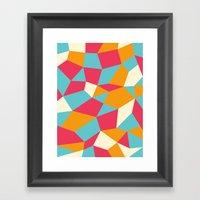 Boulderoid Series: Sunny… Framed Art Print