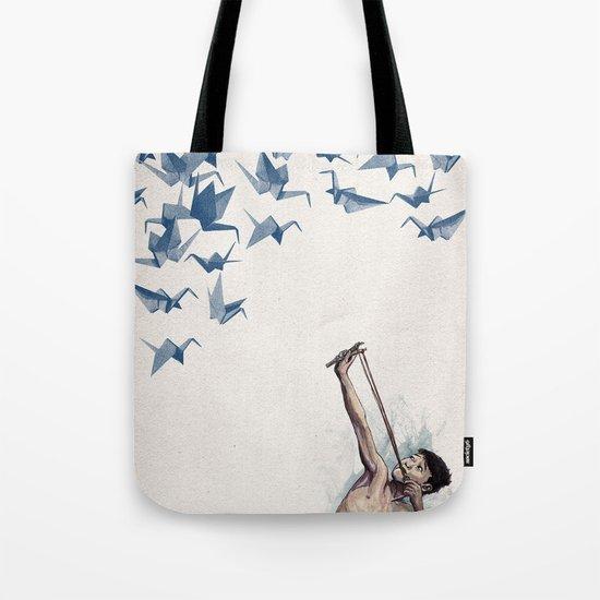 Lucky Shot Tote Bag