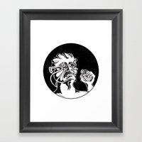 Mr. K - War Framed Art Print